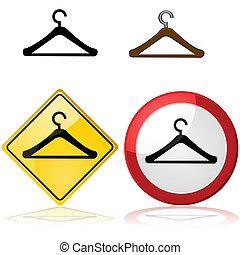 Hanger signs