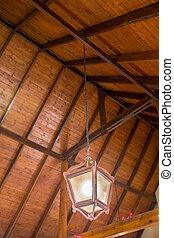 Hanging arabic lamps