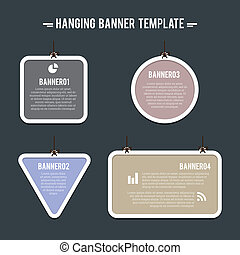 Hanging Banner Template