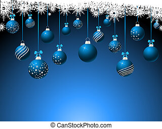 Hanging baubles - Hanging Christmas baubles