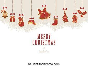 Hanging Christmas Elements