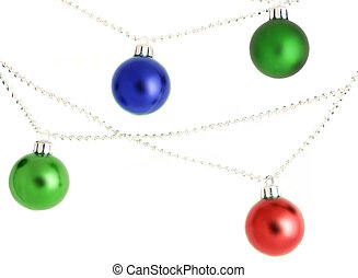 christmas ornaments - hanging christmas ornaments and...