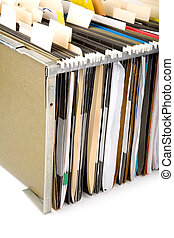 Hanging Folder and label