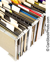 Hanging Folders and label