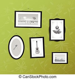 Hanging Frames with Pictures