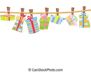 hanging gift box