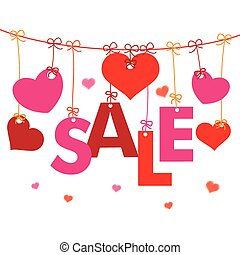 Hanging Hearts Sale Line