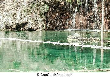 hanging Lake , Glenwood Springs , Colorado