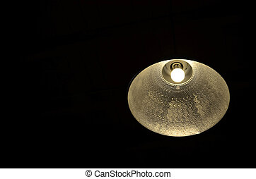 Hanging lamp and light bulb