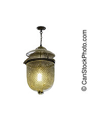 Hanging lamp with path