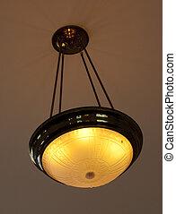 Hanging Light  0241  0210 - retro hanging light fixture