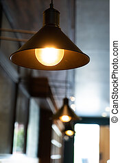 hanging light lamp