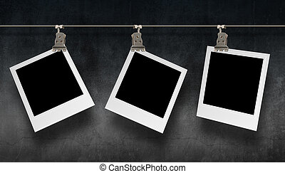 Hanging photography