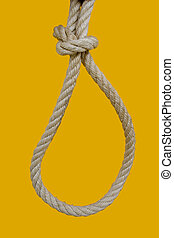 Hanging rope - a rope for hanging a bad man