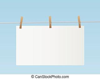Hanging Sign Illustration - Illustration of a sign hanging...