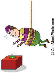 hanging thief