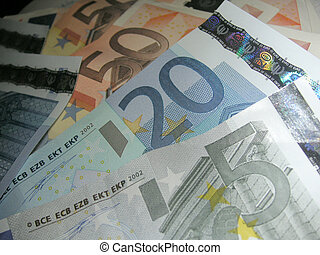 hangjegy, euro