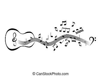 hangjegy, vonalrendszer