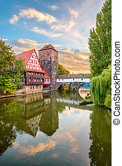 Hangman's Bridge, Nuremberg, Germany
