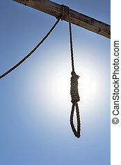 Hangmans Noose Hangs In The Gallows