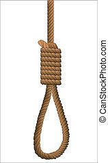 hangman's, noose.
