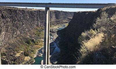 Hansen Bridge higway 50 Idaho - Concrete Deck Girder Bridge...