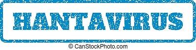 Hantavirus Rubber Stamp