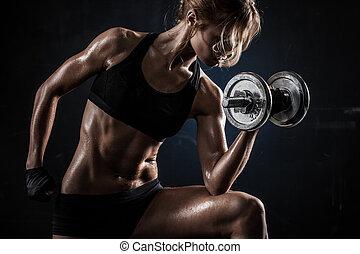 hanteln, fitness