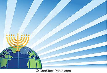 hanukkah around the globe