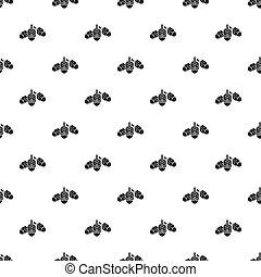 Hanukkah dreidel pattern seamless