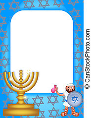 hanukkah, pagina, grens
