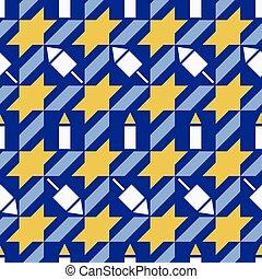 Hanukkah Pattern
