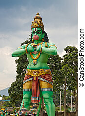hanuman, statua, signore