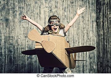 happiness of flight
