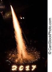 Happy 2017 fireworks