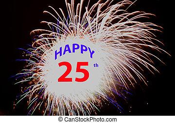 Happy 25th Fireworks