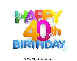 40th illustrations and clipart 584 40th royalty free illustrations rh canstockphoto com 40th birthday clipart for facebook 40th birthday clip art free downloads