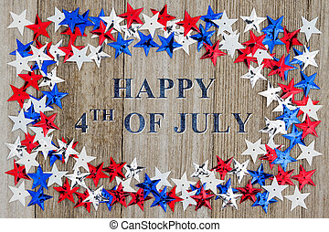 Happy 4th of July message