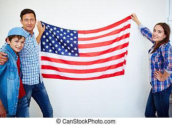 Happy Americans