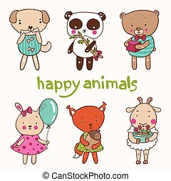happy animals
