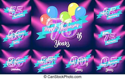 Happy anniversary pack - Happy anniversary congratulation...