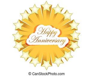 happy anniversary stars seal