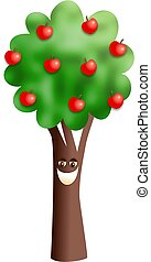 Happy Apple Tree