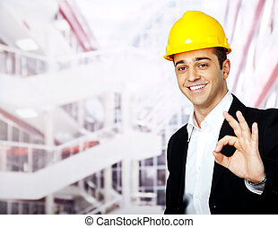 happy architect ok sign
