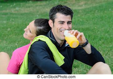 Happy Athletes