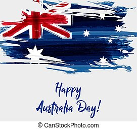 Happy Australia Day background - Happy Australia Day....