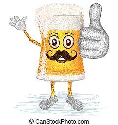happy beer