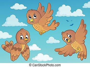 Happy birds theme image 3
