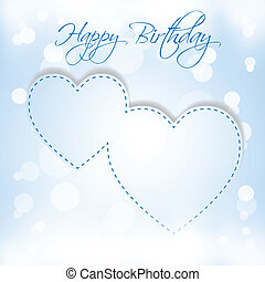 Happy Birthday 2 hearts