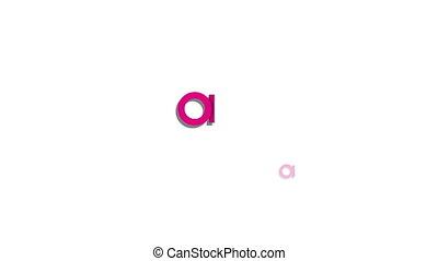 Happy birthday animated typography festive motion graphics...